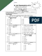 Taller de Matemática multiplicación y división quinto.docx