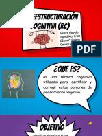 reestructuración cognitiva