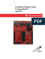 Embedded System Design using MSP430 Launchpad Development Kit.pdf