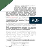 CUÁNTO SON LAS RESERVAS INTERNACIONALES NETAS DEL PERÚ.docx