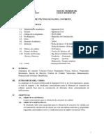 Silabo Tecnologia Del Concreto Unasam-fic-2019-1 Emo