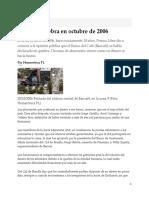 Bancafé Quiebra en Octubre de 2006