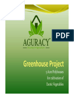 Greenhouse Project - 5 Acres