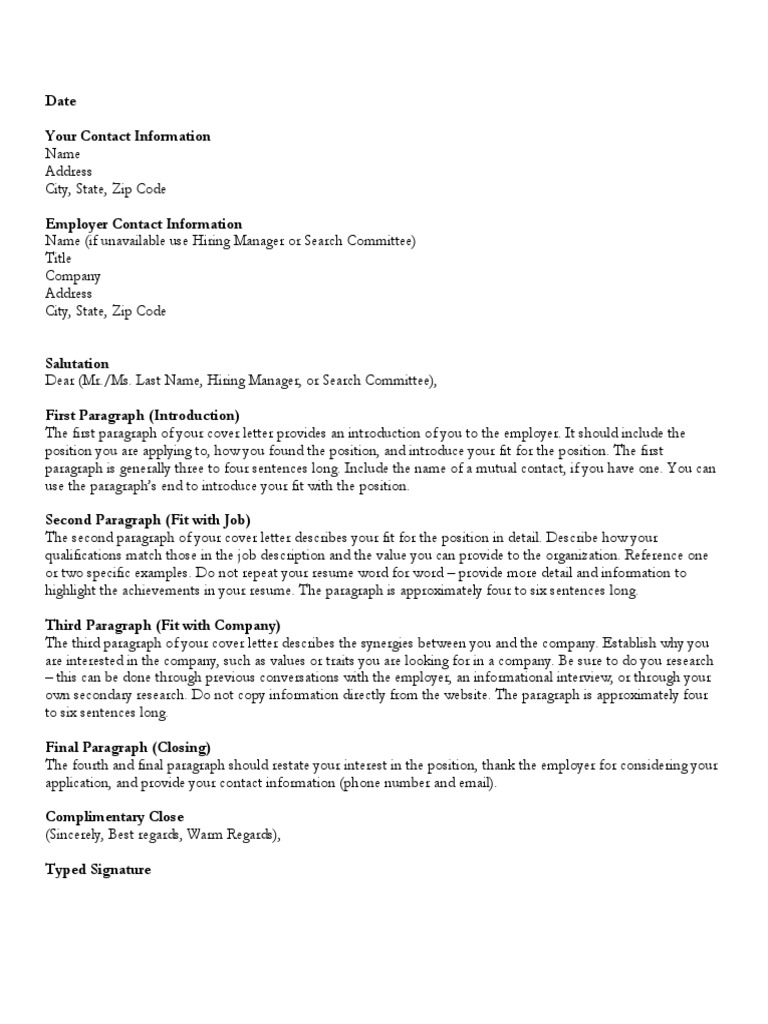 First Sentence Cover Letter from imgv2-2-f.scribdassets.com