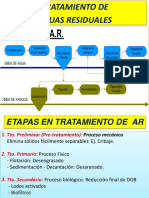 TRATAMIENTO PRIMARIO, SECUNDARIO Y TERCIARIO DE AGUAS RESIDUALES