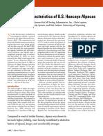 Fiber Characteristics of U.S. Huacaya Alpacas - Alpaca Research ....pdf