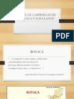 Exposición- Músicas Campesinas Boyacá y LLanos Orientales