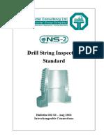NS-2 Drill String Inspection Standard Bulletin #001