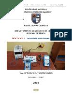 PRACTICA DE LABORATORIO N° 05 FISICA III 2018 OLVG LEY DE OHM.docx