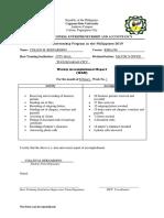 Accomplishment Report (Latest Edit)