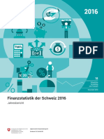Finanzstatistik der Schweiz 2016