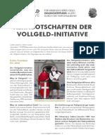 Vollgeld-Initiative - Kernbotschaften (2016-07-27)