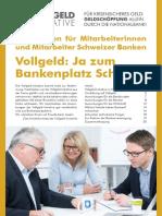Vollgeld-Initiative - Vorteile für Banken (2017-06-22)
