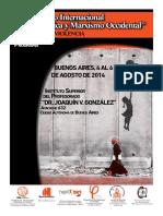 Programa Coloquio 2014