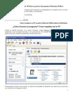 Manual Para Restaurar La PC Macrium Reflect en Windows