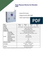 Auto Rescue Device for Elevator  ARD