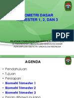 POGI, USG, 2014, FINAL, 10. Biometri Dasar Trimester 1, 2, Dan 3, 20140422, Versi Presentasi