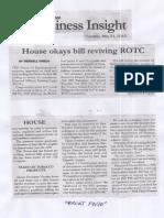 Malaya, May 21, 2019, House okays bill reviving ROTC.pdf