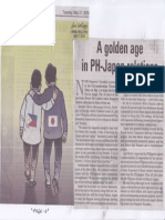 Manila Bulletin, May 21, 2019, A golden age in PH-Japan relations.pdf