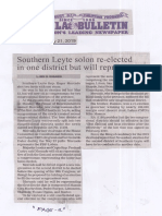Manila Bulletin, May 21, 2019, Southern Leyte solon re-elected in one district but will represent two.pdf