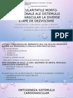 1. Particularitatile Morfo-functionale Ale Sistemului Cardiovascular - Imihteev, Dumitras
