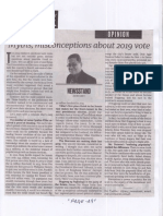Philippine Daily Inquirer, May 21, 2109, Myths, misconceptions about 2019 vote.pdf