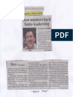 Philippine Star, May 21, 2019, New senators back Sotto leadership.pdf