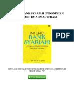 Ini Lho Bank Syariah Indonesian Edition by Ahmad Ifham