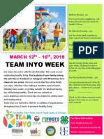 Team Inyo Week