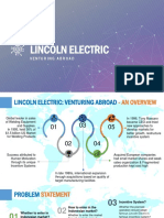 Lincoln Electric Case Study