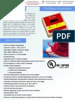 ProReact Analogue Technical Sheet