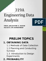 MATH019A Engineering Data Analysis