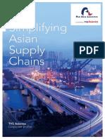 PAN ASIA LOGISTICS Ft. TVS Asianics Corporate Profile