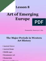 Art of Emerging Europe