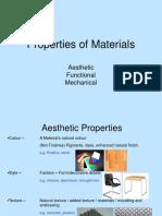 Properties of Materials-4