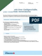 Vereinskonto Sparkasse Tirol