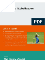 Sports and Globalization