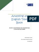 Analyzing an English text book