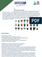 Push Button & Indication Lamps Catalogue