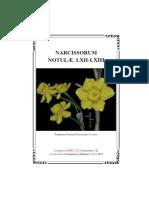 Narcissorum notulæ, LXII-LXIII