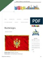Muntenegru - GhidEuropean - Cel Mai Bun Ghid de Calatorie