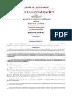 Paracelse - Le livre de la rÇnovation et de la restauration.pdf