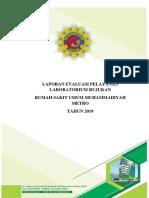 Laporan Evaluasi Pelayanan Laboratorium Rujukan