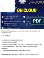 Discover SAP Cloud Solutions and Services