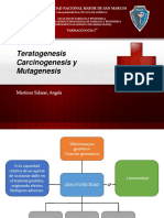 Teratogenesis Carcinogenesis y Mutagenesis