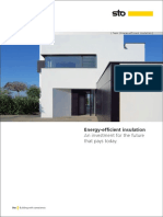 Energy-effi cient insulation