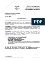 FLES Comedie Lycee Fiche Corrige 1