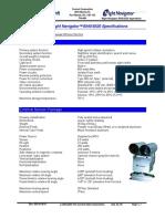 Night Navigator Model 8540_Specifications