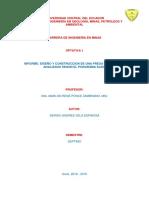 Informe_diseño y Construcciòn de Una Presa de Residuos Segun Slide