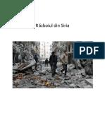 Razboiul Din Siria
